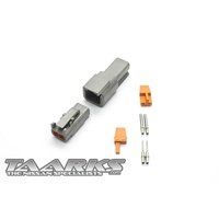 "Deutsch DTM Style Connector Set ""2 Pin"""