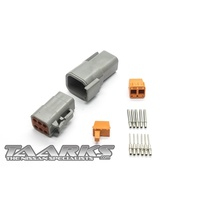 "Deutsch DTM Style Connector Set ""6 Pin"""