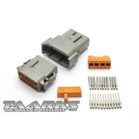"Deutsch DTM Style Connector Set ""12 Pin"""