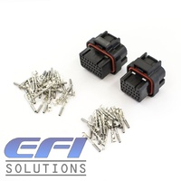 26 & 34 Pin AMP Style Connectors and Pins - Suit E8/11, PS1000/2000, Elite 1000/1500/2000/2500 ECU