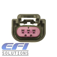 3 Pin Connector E85 Flex Sensor Black