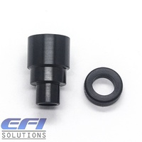 Injector Nozzle Adapter With Squared Seal Size: 14.7mm x 8.5mm x 4.8mm