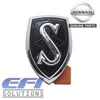 "Bonnet Hood Badge / Emblem (Black) ""S14 - S2"""