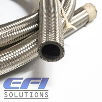 100 Series Stainless Steel Braided Hose AN4 Per Metre