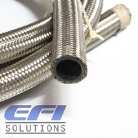100 Series Stainless Steel Braided Hose AN16 Per Metre