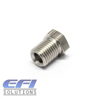 Brake Tube Nuts Male M10x1.0mm To 4.76mm (3/16) Hardline Stainless Steel