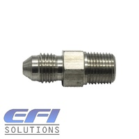Straight 1/8 NPT To Male AN4 Stainless Steel