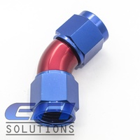 45° Degree Full Flow Female Coupler AN6