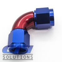 90º Degree Full Flow Female Coupler AN4