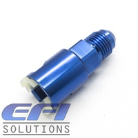 EFI Fuel Fitting 3/8 ID Tube To Male AN6