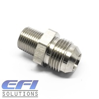 Straight 3/8 NPT To Male AN10 Stainless Steel