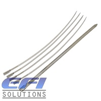 "Zip Ties ""7x250mm"" Stainless Steel"