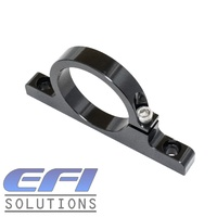 Billet Filter Bracket 50mm Dual Hole mount (Black)