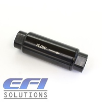 Pro Fuel Filter 10 Micron AN8 ORB (Black)